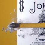 Una bala atraviesa una carta