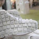Zapatos teclado
