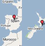 Sandwich World: Antípodas España - Nueva Zelanda
