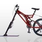 KTRAK, bicicleta para nieve