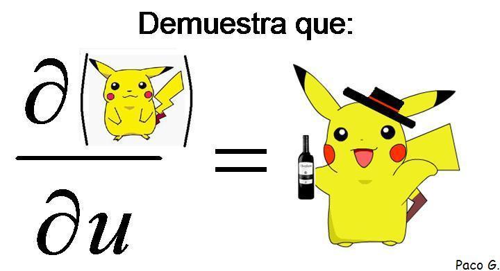 Ecuación Pikachu
