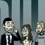 Pardillos, el comic parodia de Perdidos LOST