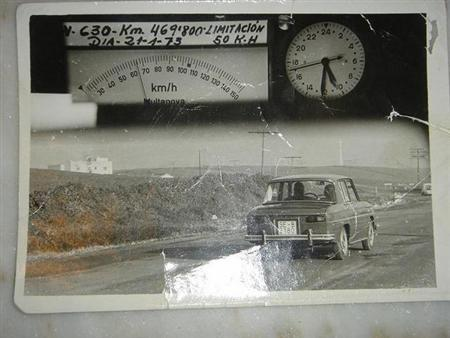 Primera foto de Radar en España 1973