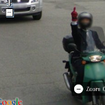 StreetViewFun - Levantándole el dedo anular a Google