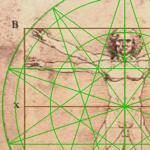 Uomo di Vitruvio, Leonardo da Vinci