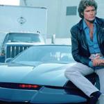 David también comparte el coche fantástico en sus viajes.