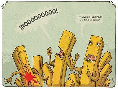 Alberto Montt: Papas fritas