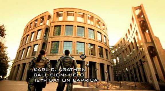 BSG 1x03 - Exterior