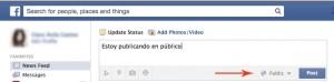 Cuadro de diálogo de Facebook